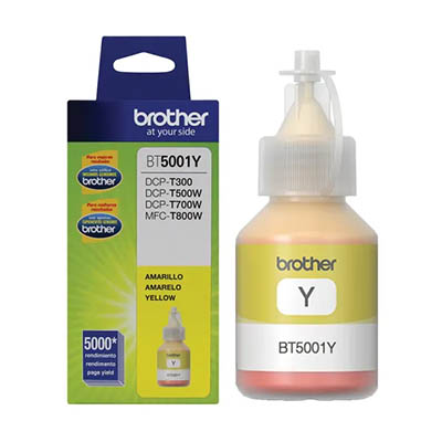 Botella de tinta Yellow BT5001Y
