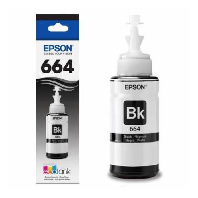 Botella de tinta negra T664120