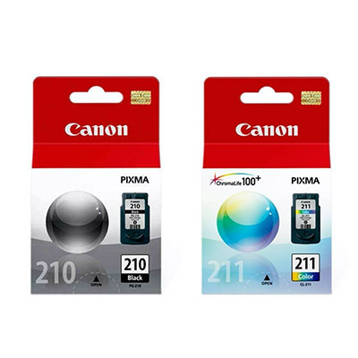 Kit Cartuchos Canon Originales Pg-210 Negro Y Cl-211 Color