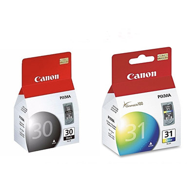 Kit De Cartuchos Canon Pg-30 Negro Y Cl-31 Color Mp210