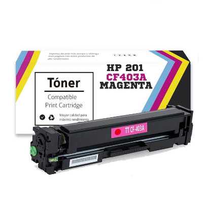 Toner Generico Hp 201 CF403A Magenta